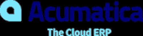 Acumatica The Cloud ERP logo.
