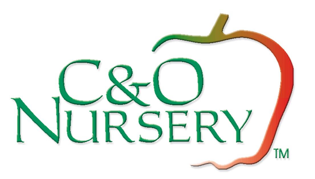 C&O Nursery logo.
