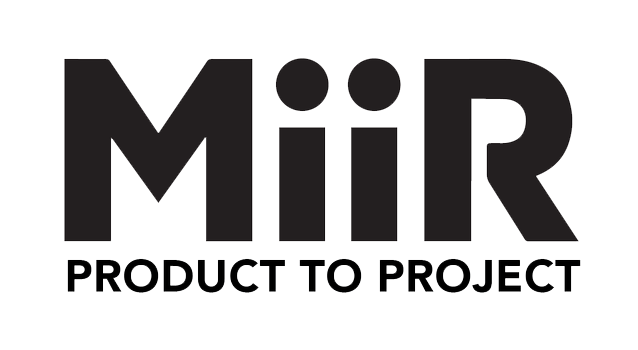 MiiR Product to Project logo.