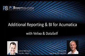 Additional Reporting & BI for Acumatica [WEBINAR]