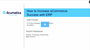 How to Increase eCommerce Success with ERP