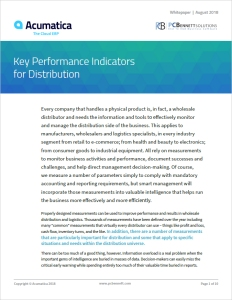Acumatica Whitepaper - Distribution KPIs Thumbnail
