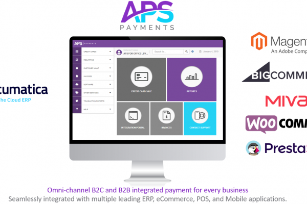 Acumatica Omni-Channel eCommerce Integrated Payments.