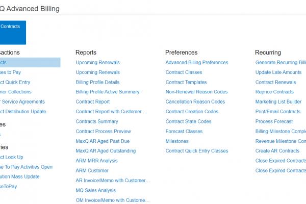MaxQ Advanced Revenue Management.
