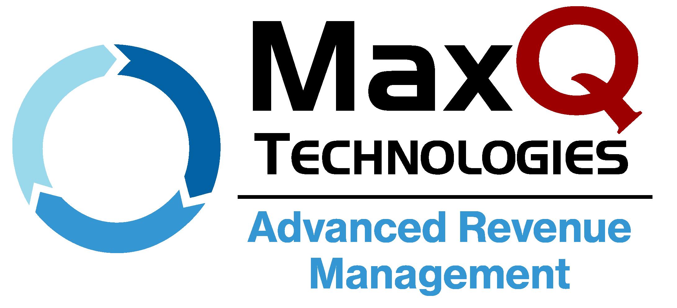 MaxQ Technologies Advanced Revenue Management logo.