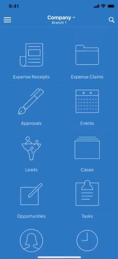Acumatica Mobile App